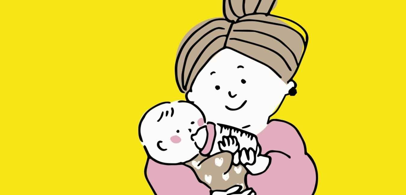 産後の子育て